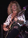Onstage with Blue Murder, 1989