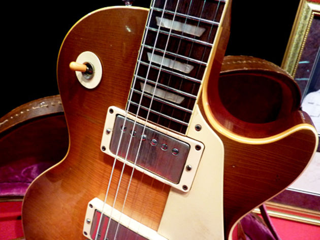 Les Paul Standard detail