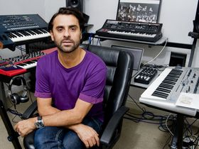 In pictures: Yousef's London studio