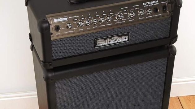SubZero GT260 120W DSP guitar amp stack