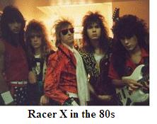Racer X (Paul Gilbert 2nd from right)