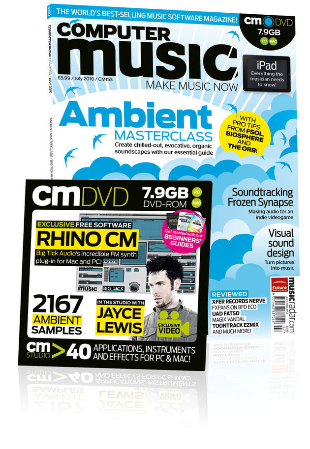 Computer Music 153, July 2010