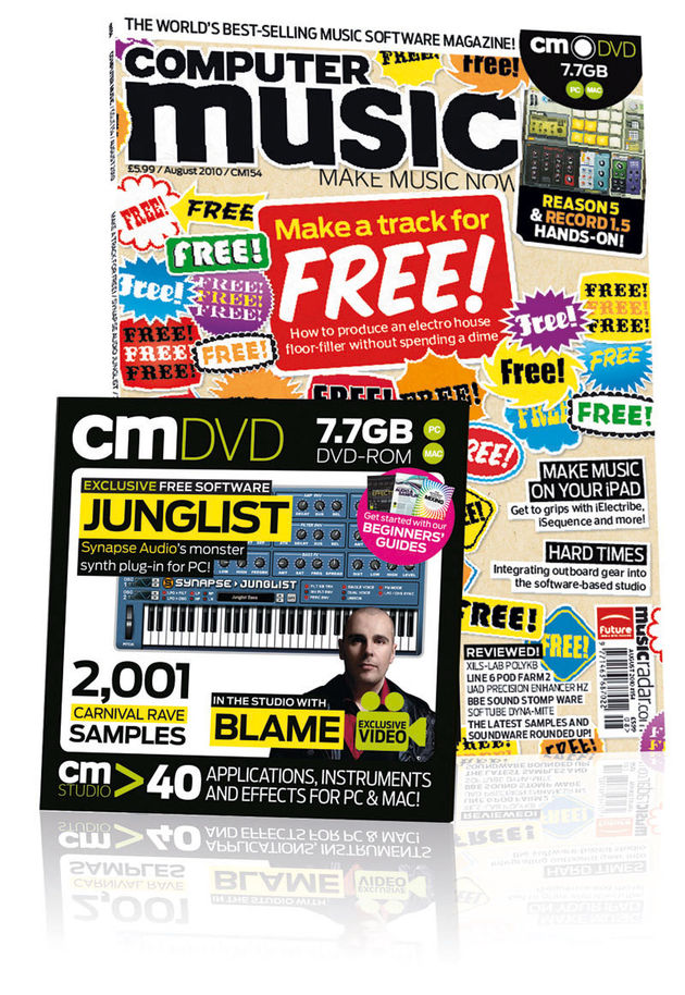 Computer Music 154, August 2010