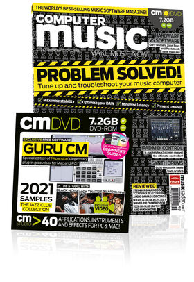 Computer Music 155, September issue – On sale now!
