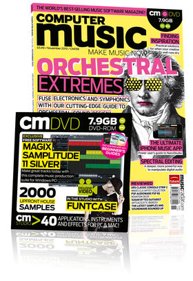 Computer Music 158, November issue – on sale now!