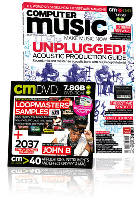Computer Music 161, February issue – on sale now!