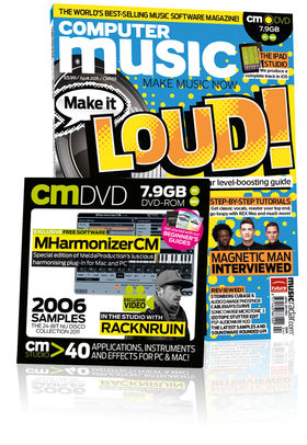 Computer Music 163, April issue – on sale now!