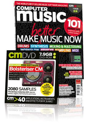 Computer Music 165, June issue – on sale now!