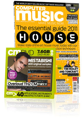 Computer Music 168, September issue – on sale now!