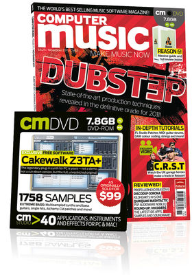 Computer Music 171, November 2011 – DUBSTEP