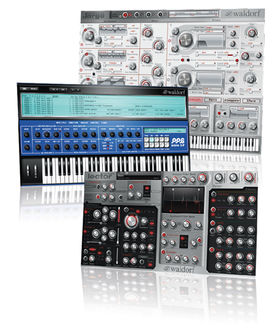 WIN Waldorf plug-ins with Computer Music magazine!