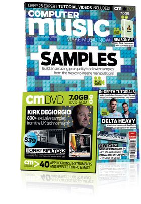 Computer Music 182, October 2012 – Build a track with Samples – DOWNLOADS included!