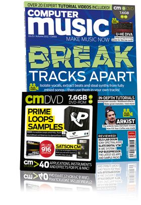 Computer Music 183, Autumn 2012 – Break Tracks Apart – DOWNLOADS included!