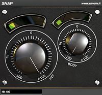 SKnote Snap - free VST/AU transient exciter plugin