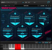 UVI Defcon - free VST/AU multitrack instrument plugin