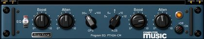 Program EQ CM - Free VST/AU Pultec-style EQ