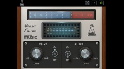 ValveFilter CM - Free VST/AU filter and drive plugin