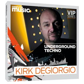 50 FREE samples from UK techno master Kirk Degiorgio!