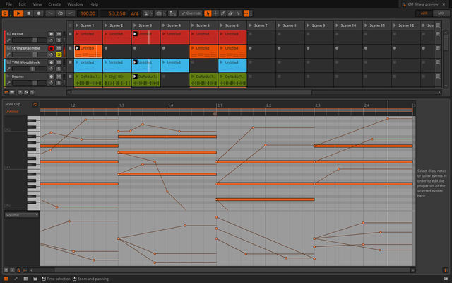 Per-note Automation in Bitwig Studio