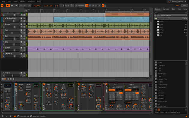 Bitwig Wet FX