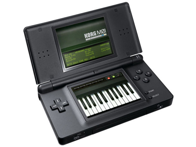 Korg M01 for Nintendo DS