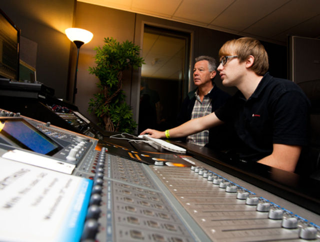 SAE's studios became PSL's demo rooms