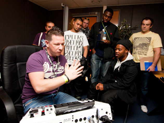 PSL attendees learn the secret art of MPC beats from Akai's experts