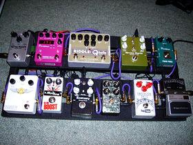 New pedal board