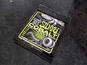 Ernie Ball Cobalt guitar strings