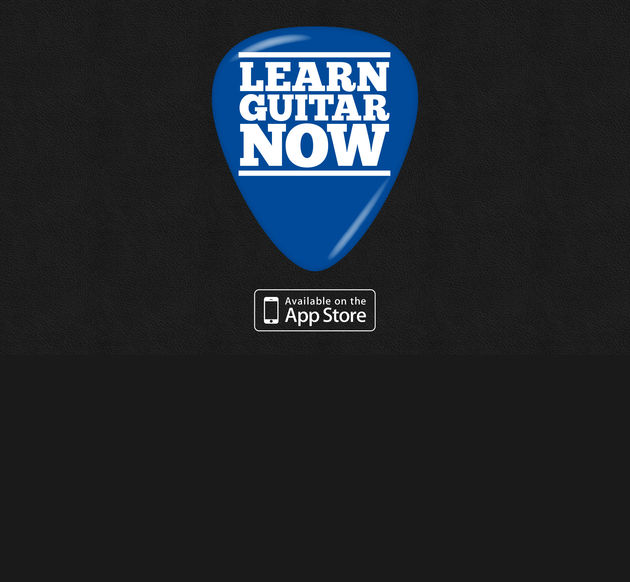 Learn Guitar Now: ultimate guitar lessons for the iPad