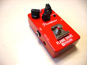 Providence Flame Drive pedal review