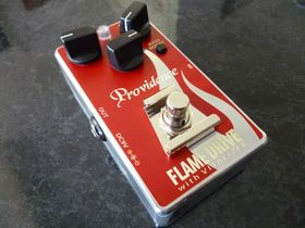 4 overdrive and distortion pedals from Providence