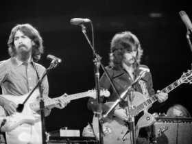 Eric clapton and george harrison
