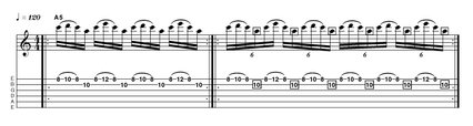 repetition tab