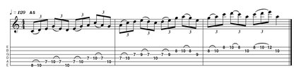 Sequential ascending tab