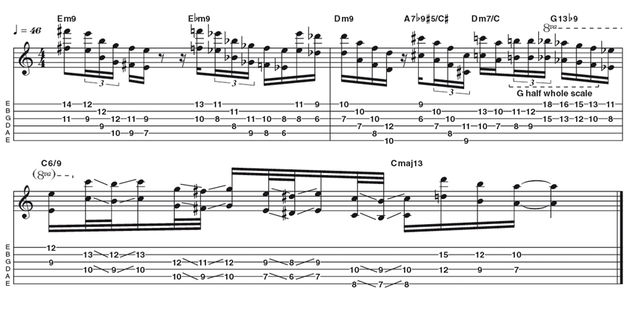 Advanced lick two: Wes Montgomery octaves