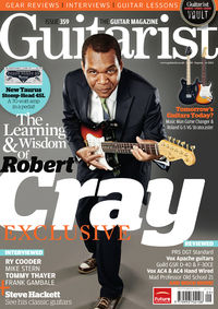 Guitarist issue 359 on sale now
