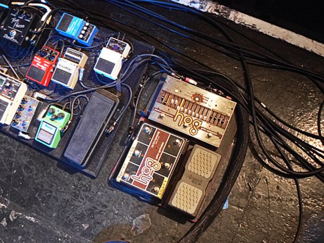Pedalboard – E-HX HOG and Crybaby