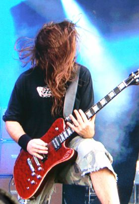 The guitars of Download festival 2010