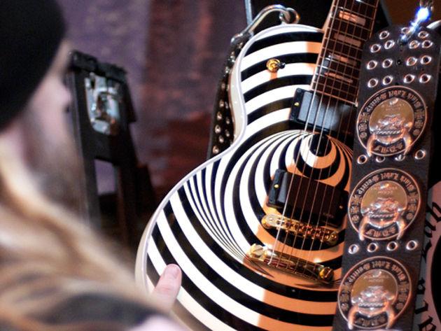 Zakk's Vertigo Gibson Les Paul