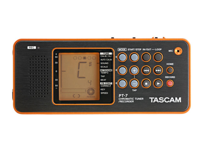 Tascam PT-7 Chromatic Tuner/Recorder