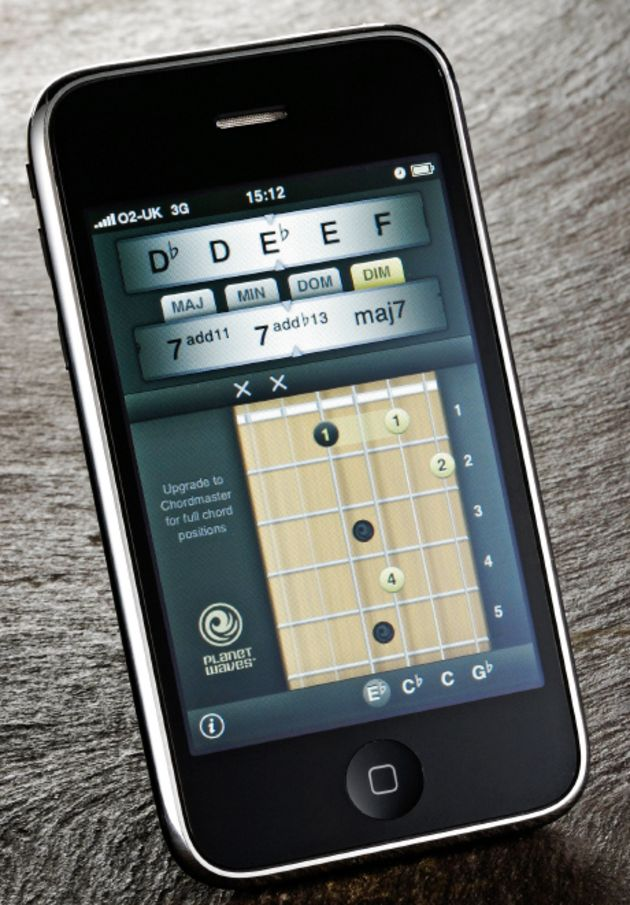 The iPhone is a great learning tool for guitarists