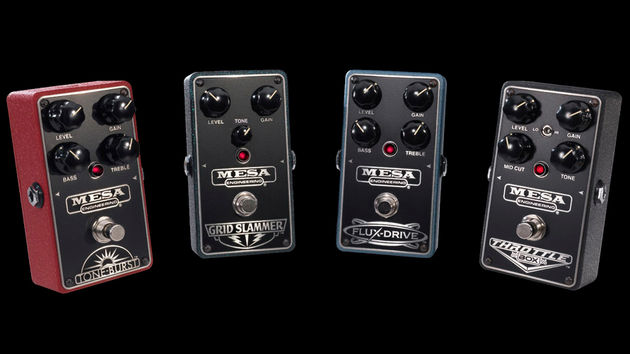 Mesa/Boogie announces four new overdrive pedals
