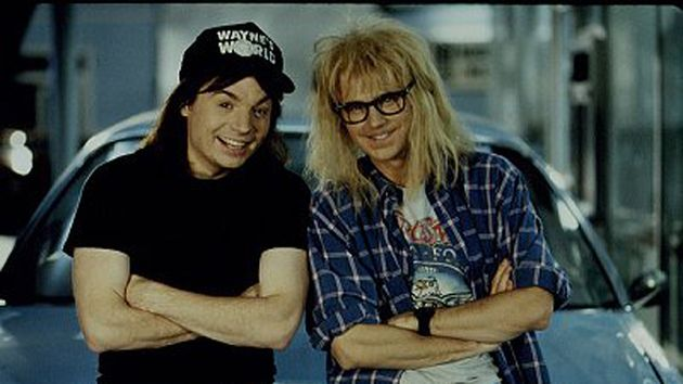 Garth, de Wayne's World... il aime taper !