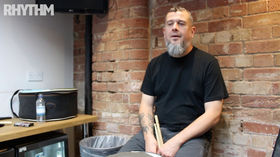 Clutch's JP Gaster gives Rhythm some rudiment tips