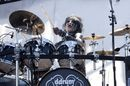 Black Veil Brides' Christian Coma shows us some stick tricks