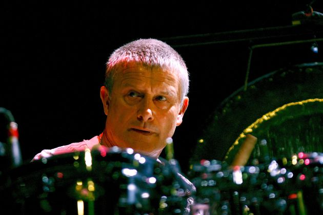 Carl Palmer at the kit