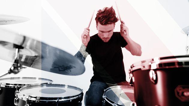 Great drummers like Dan Flint…