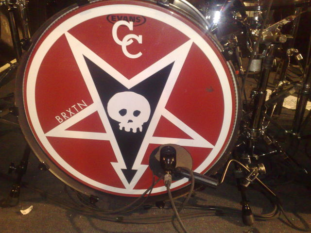 "Derek's 24"" bass drum"