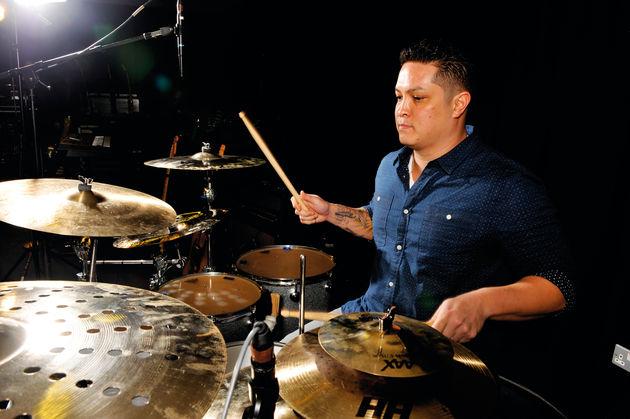 Bruno Mars' drummer Eric Hernandez